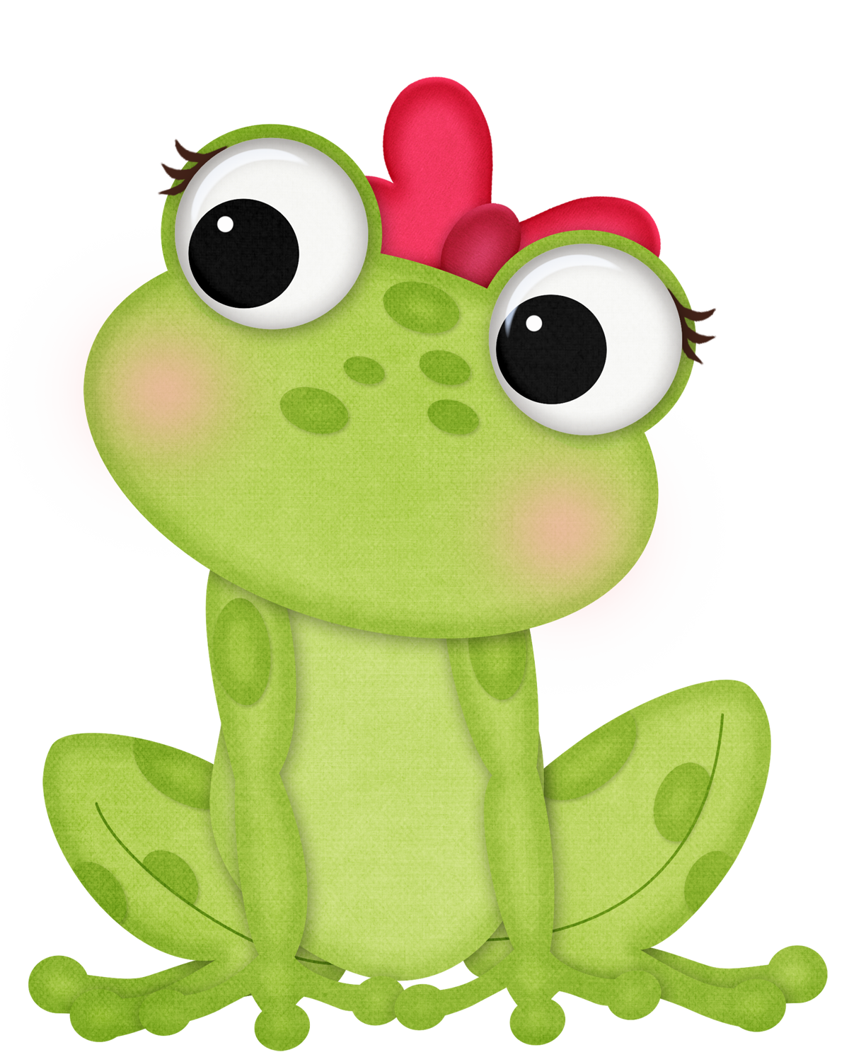 Frog with heart clipart image library library 2nd grade polka dots | Peace, Love & Teaching: September 2012 | Frog ... image library library