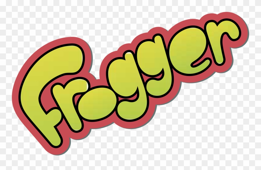 Frogger clipart jpg black and white Frogger Logo Png Transparent Svg Vector Freebie Supply - Frogger ... jpg black and white