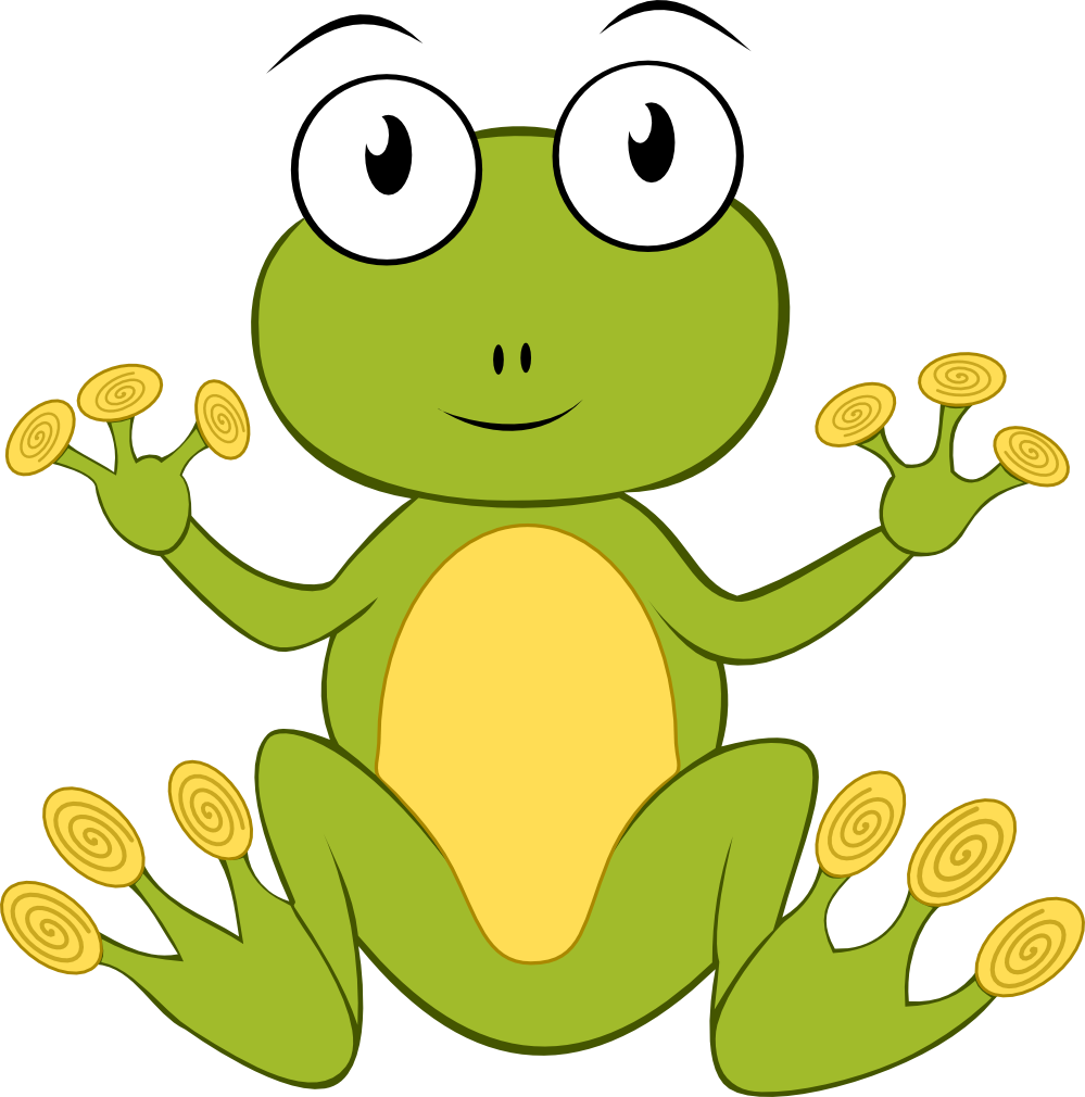 Froggy book clipart picture black and white stock clipartist.net » Clip Art » froggy frog SVG picture black and white stock