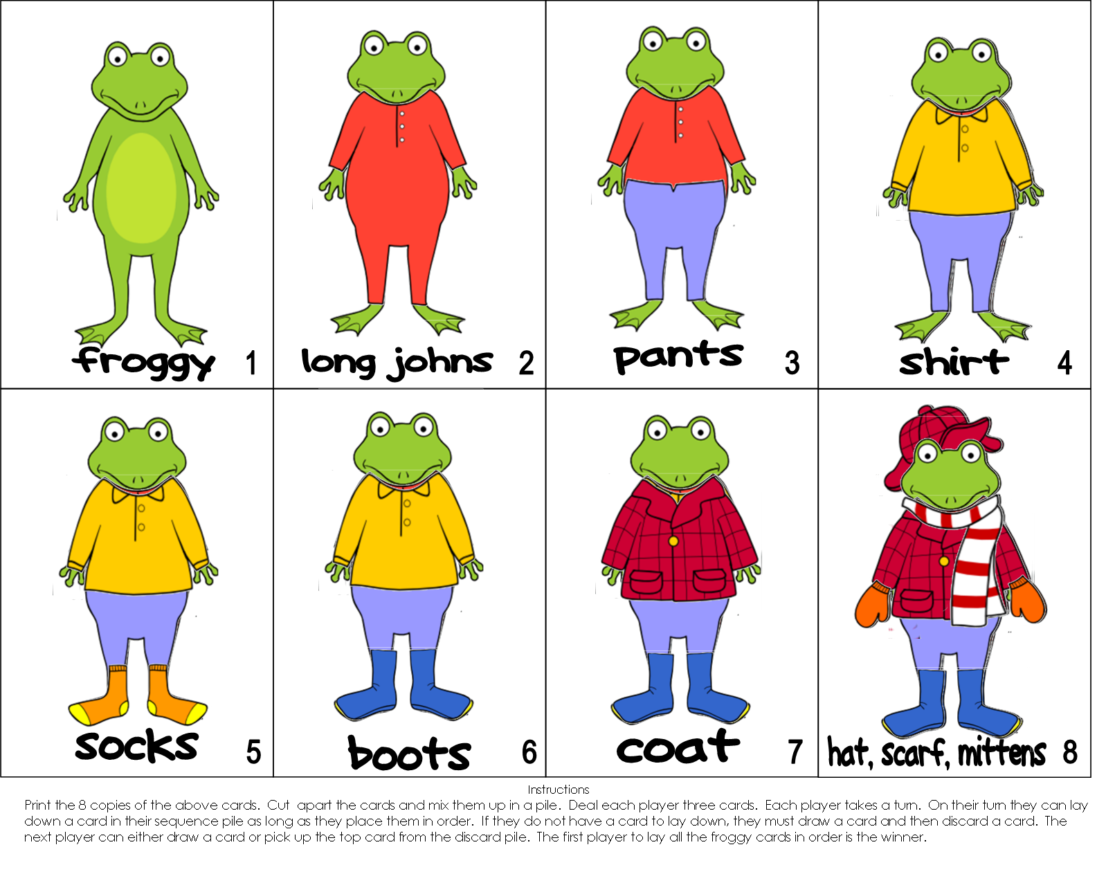 Froggy book clipart jpg royalty free library The PaperBag Teachers: Froggy Gets Dressed jpg royalty free library