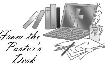 From the pastor-s desk clipart clipart black and white From the Pastor\'s Desk - St. Eugene - Yonkers, NY clipart black and white