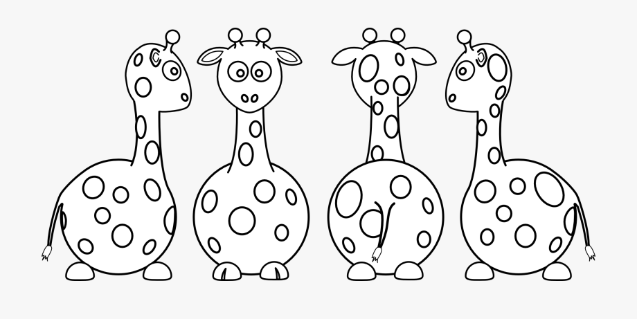 Front and back clipart clip art freeuse download Giraffe Clipart Front Back - Giraffe #1323208 - Free Cliparts on ... clip art freeuse download