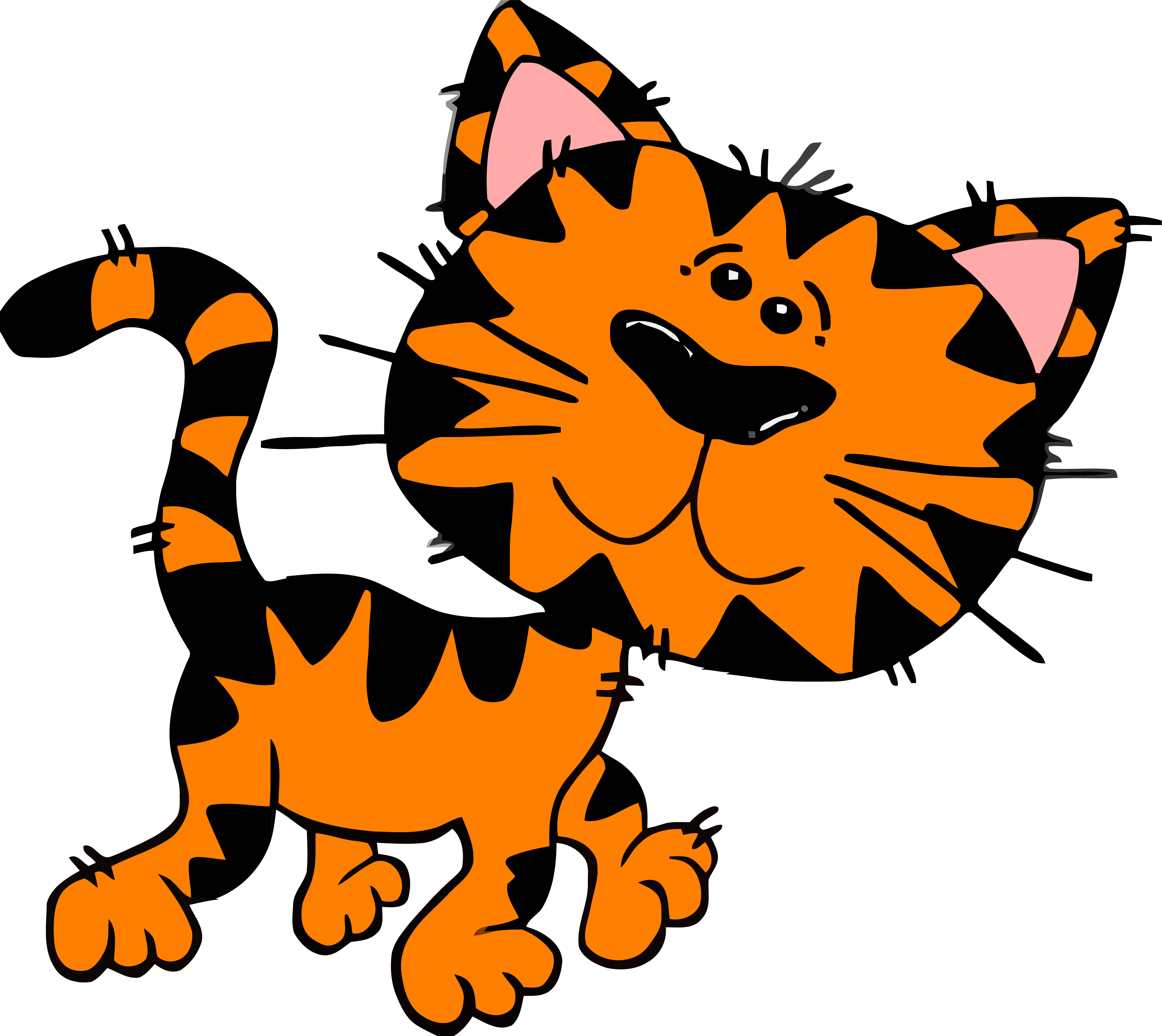 Front of a cat clipart image royalty free stock Cartoon Cat Tigger Clipart Png Image Download - Clipartly ... image royalty free stock