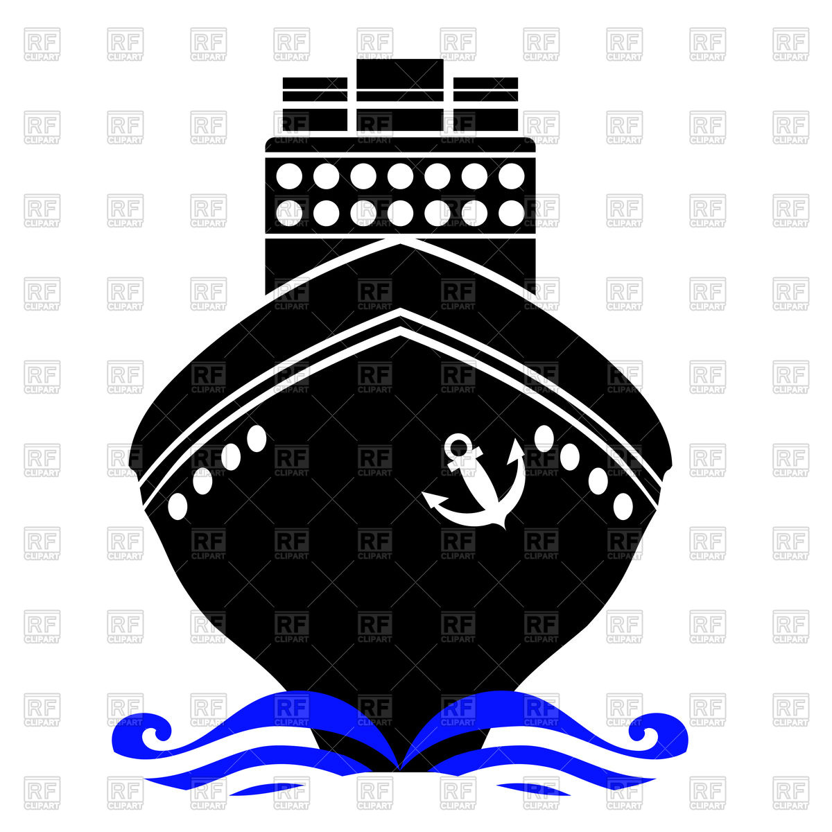 Front of ship clipart picture black and white stock Front of ship clipart 1 » Clipart Station picture black and white stock