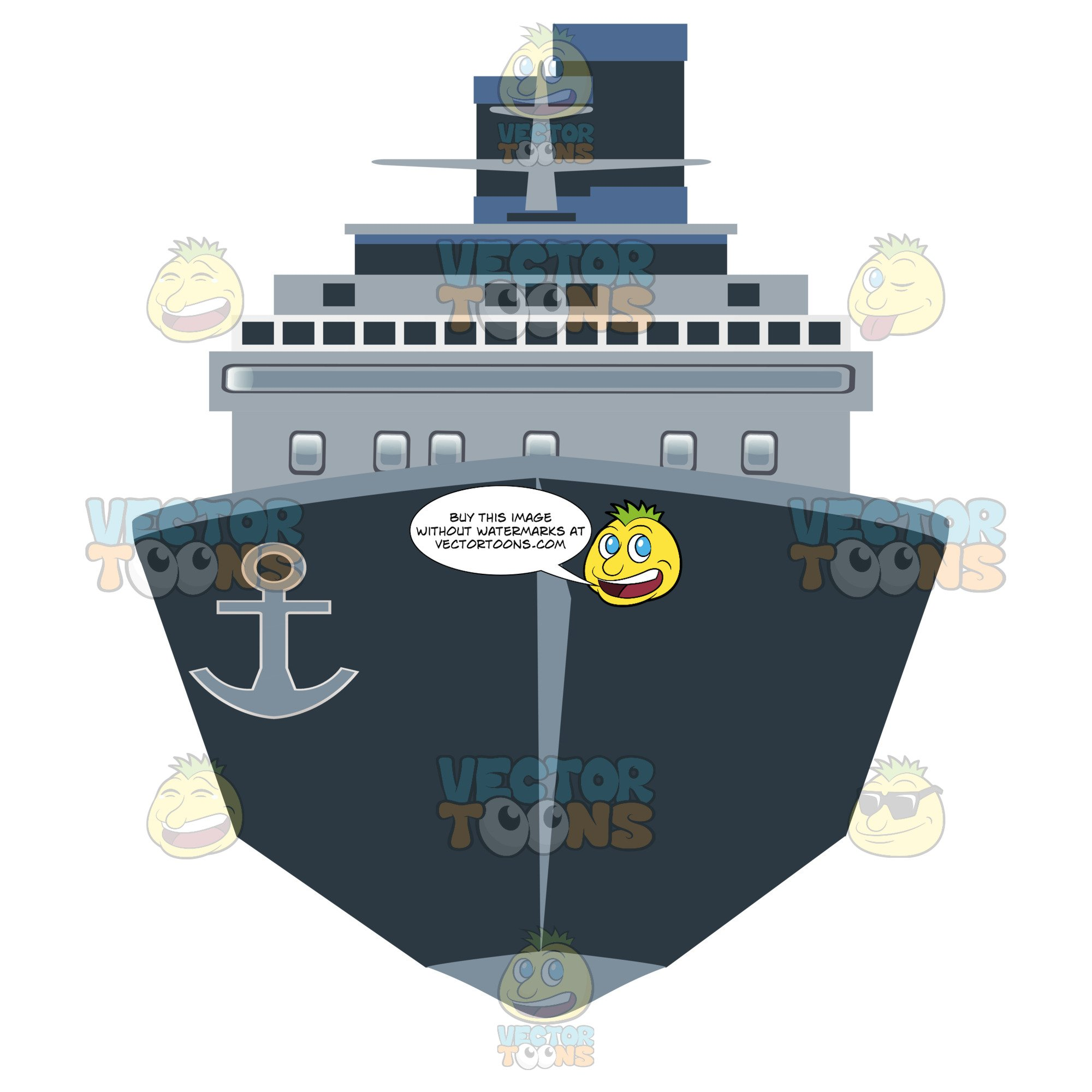 Front of ship clipart image freeuse download Front View Of A Cargo Ship image freeuse download