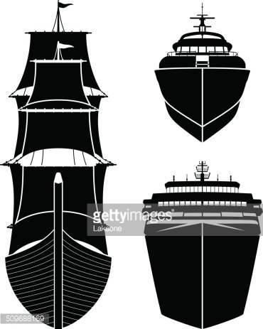 Front of ship clipart svg freeuse download Ships Frontviews Silhouettes stock vectors - Clipart.me svg freeuse download