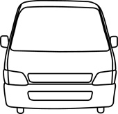 Front of van clipart picture freeuse download Free White Van Cliparts, Download Free Clip Art, Free Clip Art on ... picture freeuse download