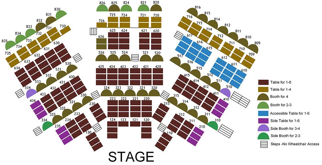 Front row clipart theater sitting people clip royalty free library Theatre Seating Charts | Chanhassen Dinner Theatres clip royalty free library
