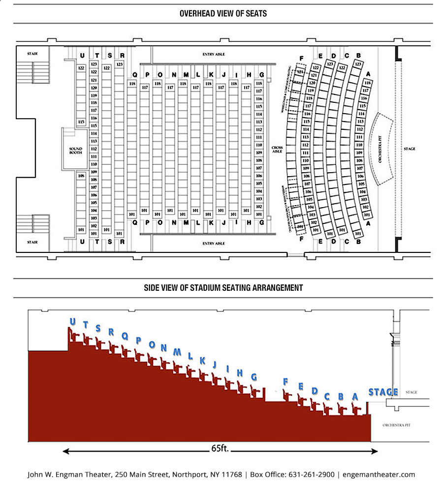 Front row clipart theater sitting people banner library stock Seating Chart & Accessibility – John W. Engeman Theater banner library stock
