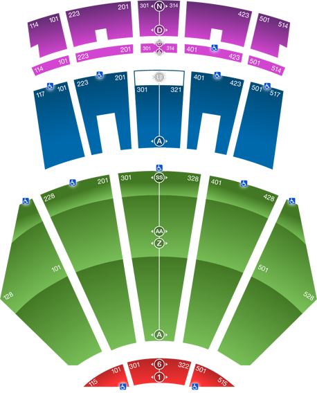 Front row clipart theater sitting people clipart black and white download Seating Map | Microsoft Theater clipart black and white download