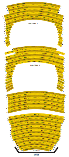 Front row clipart theater sitting people clipart freeuse GUIDE TO GOOD SEATS AT THE LYRIC THEATRE clipart freeuse