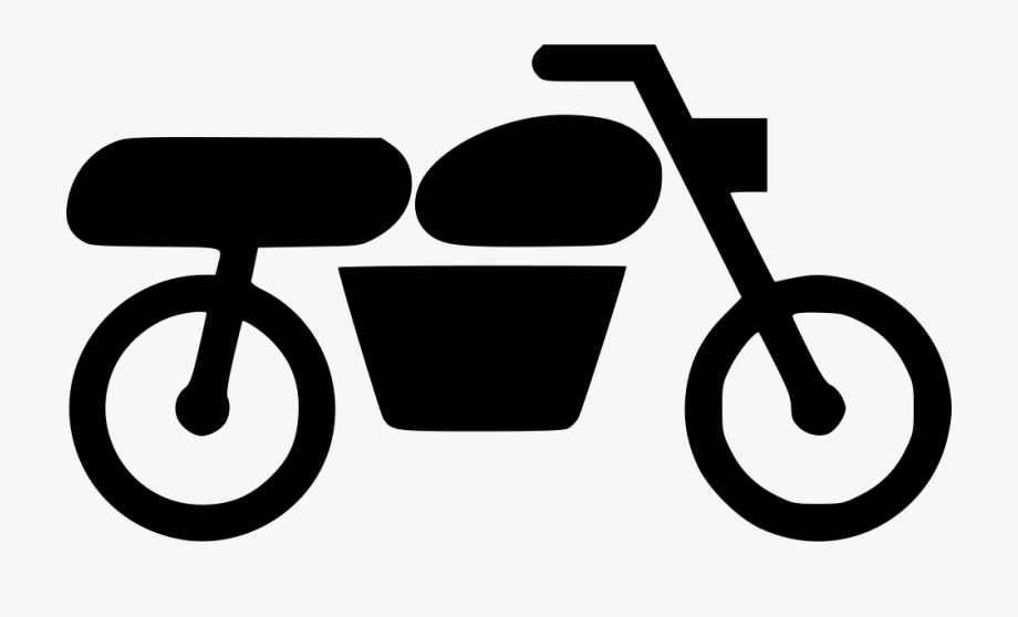Front view of motorcycle handlebars and tire clipart banner royalty free Motorcycle Icon Png - Motorbike Icon Png , Transparent Cartoon, Free ... banner royalty free