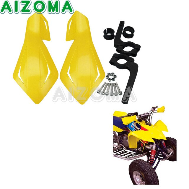Front view of motorcycle handlebars and tire clipart svg freeuse stock US $5.65 |Dirt Pit Bike Yellow Enduro Handguards Motorcycle Universal 7/8"|640|640|?|en|2|6dbfd491f4856ec239af4b481b3182c0|False|UNLIKELY|0.32172703742980957