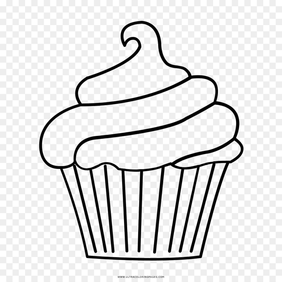 Clipart frosting graphic black and white download Cake Background png download - 1000*1000 - Free Transparent Cupcake ... graphic black and white download