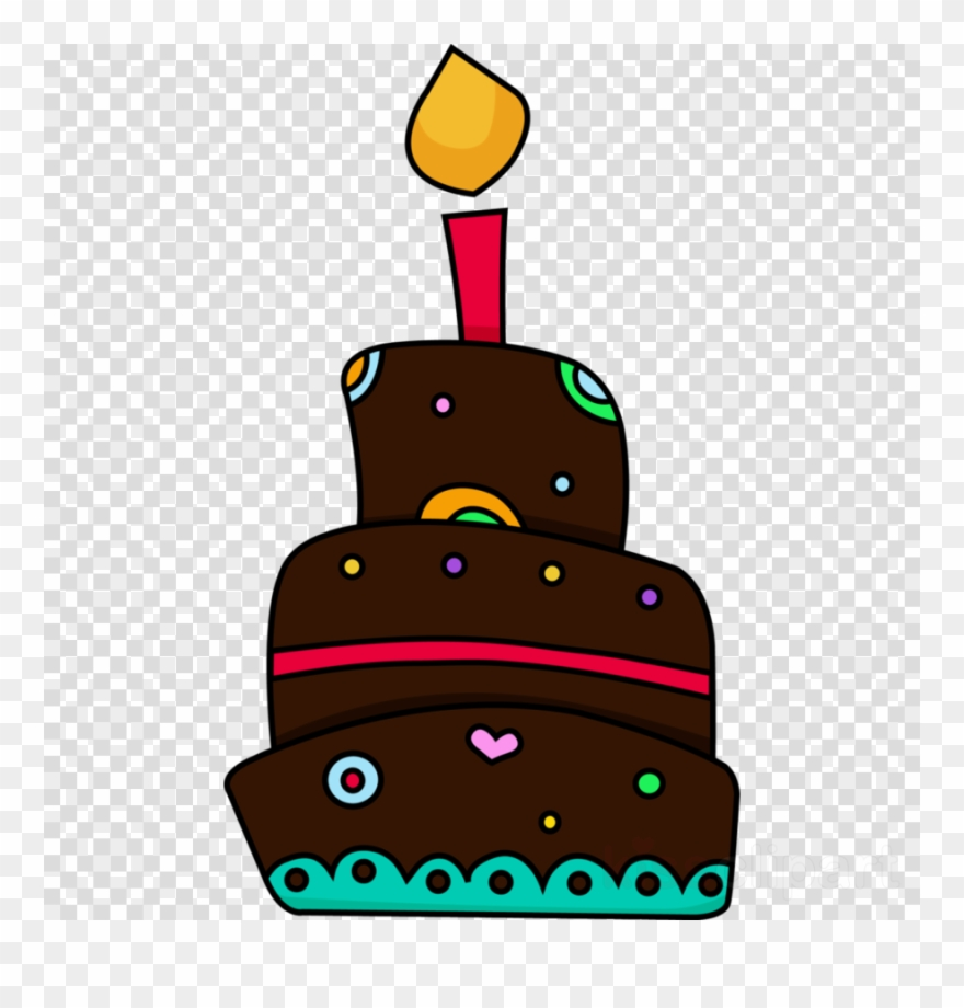 Frosting clipart image black and white library Download First Birthday Cake Cartoon Png Clipart Frosting ... image black and white library