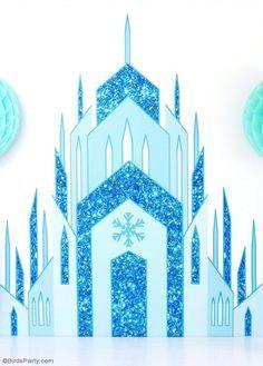 Frozen castle clipart