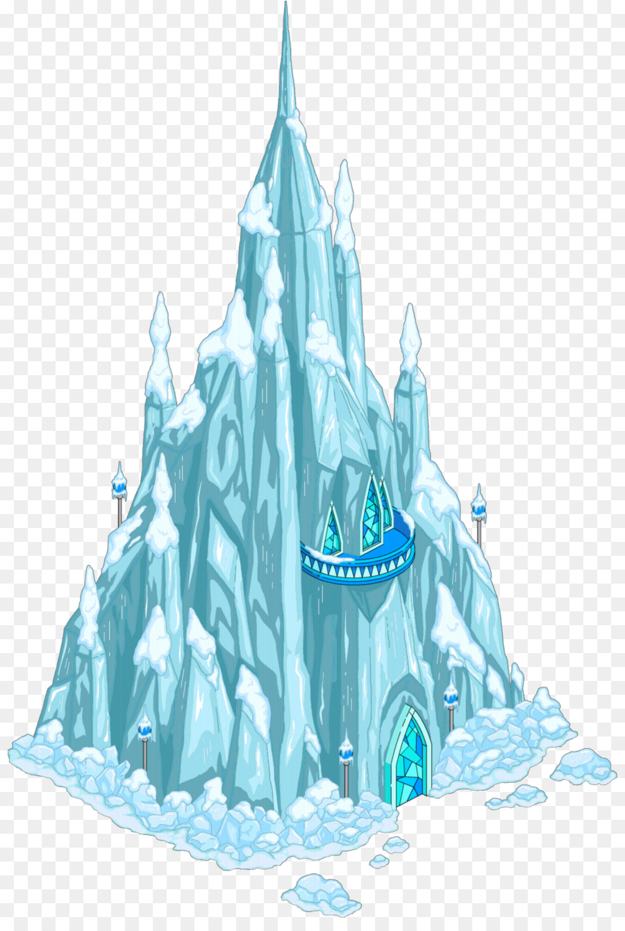 Frozen castle clipart picture freeuse stock Elsa Frozen clipart - Water, transparent clip art picture freeuse stock