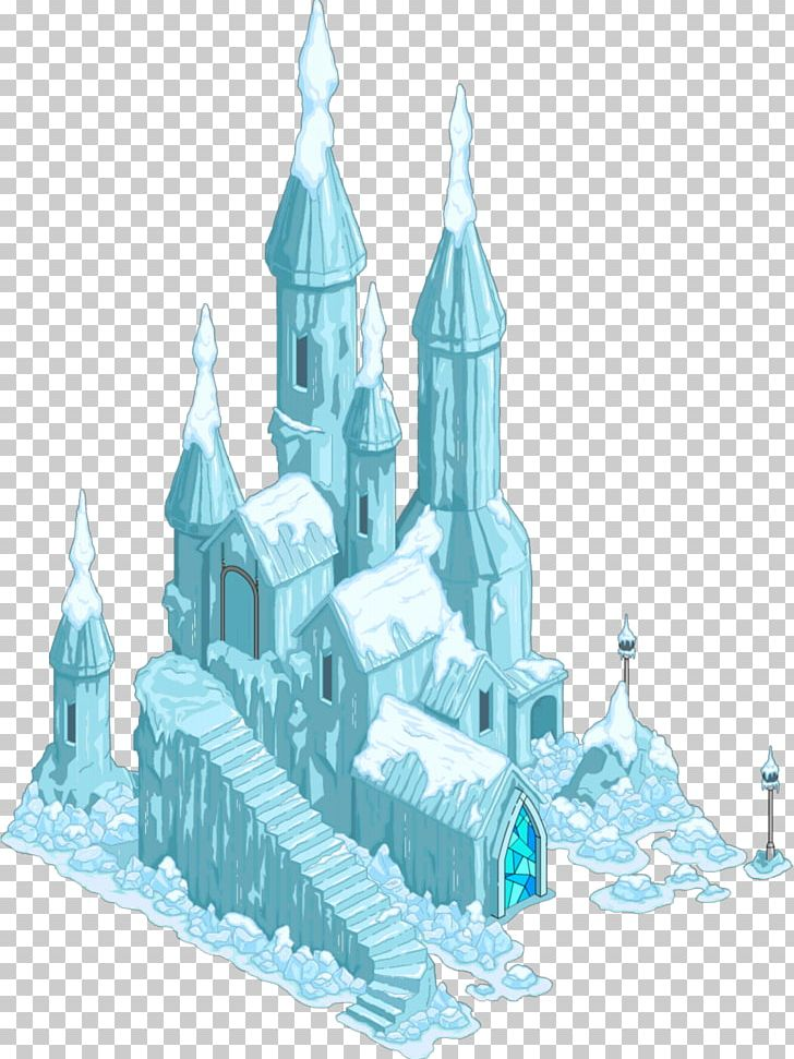 Frozen castle clipart graphic transparent stock The Simpsons: Tapped Out Elsa Ice Palace Ice Sculpture PNG, Clipart ... graphic transparent stock