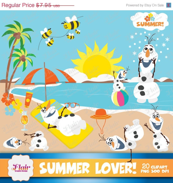 Frozen themed cliparts vector black and white download Theme Clipart Frozen Inspired Characters Olaf Clipart Beach Summer ... vector black and white download