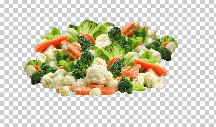 Frozen vegetables clipart