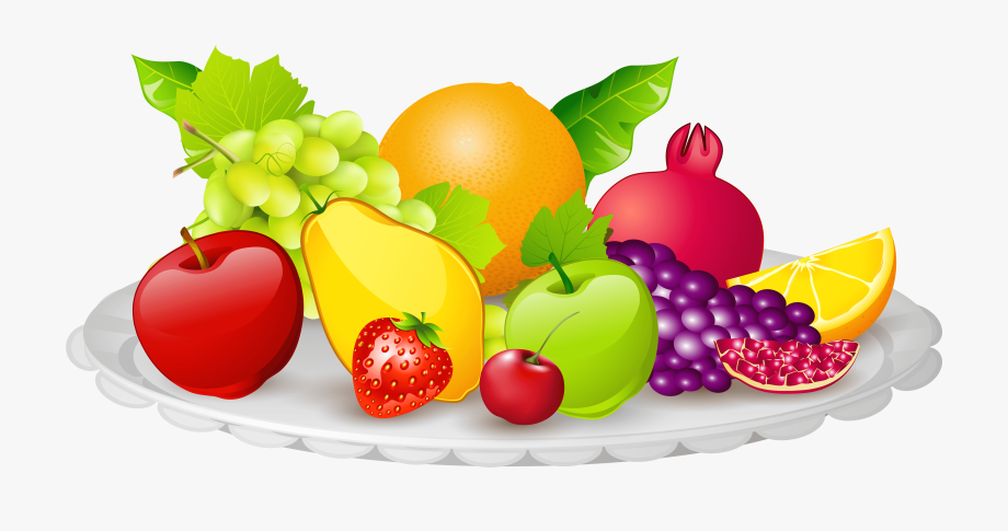 Fruits images clipart clip freeuse download Plate Of Food Png - Fruit Plate Clipart #63000 - Free Cliparts on ... clip freeuse download