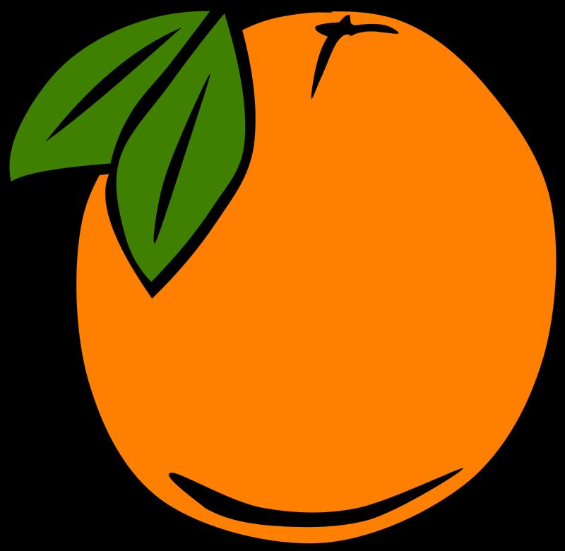 Orange free clipart clip art free stock Free Clipart: Simple Fruit Orange | Gerald_G clip art free stock