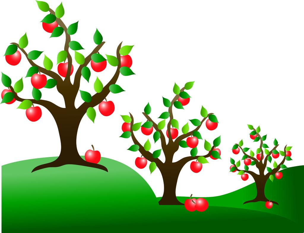 Fruit garden clipart banner library Fruit Garden Cliparts - Cliparts Zone banner library