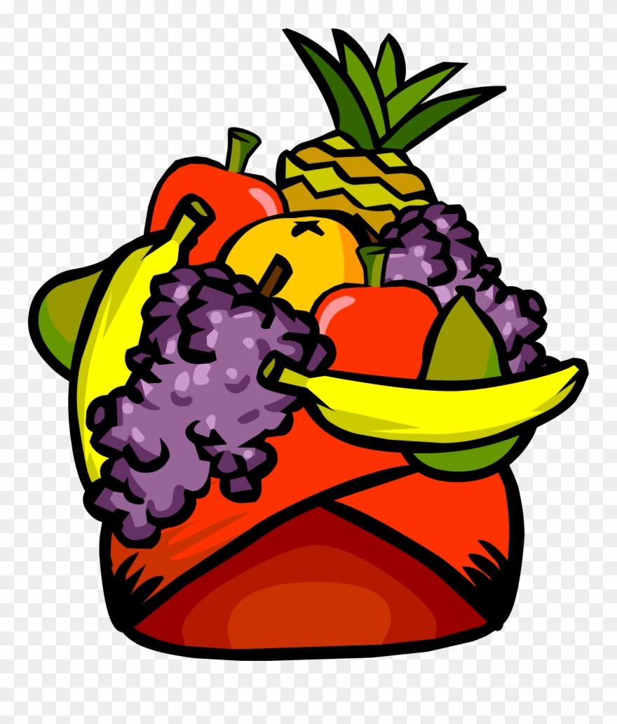 Fruit hat clipart clip art free stock Fruit - Club Penguin Clipart (#292293) - PinClipart clip art free stock