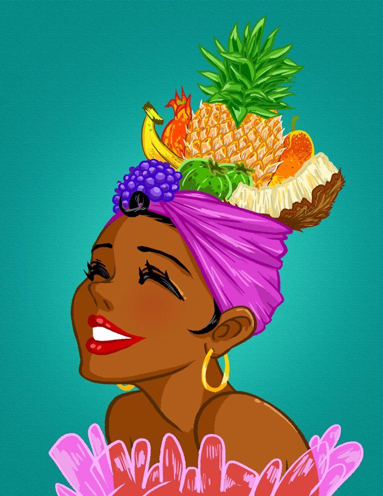 Fruit hat clipart png download Tropical-fruit-hat by mosuga.deviantart.com on @deviantART | my ... png download