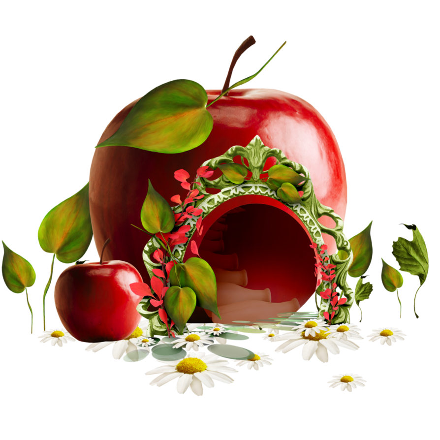 Fruit house clipart picture free stock Apple House by Rosemoji on DeviantArt picture free stock