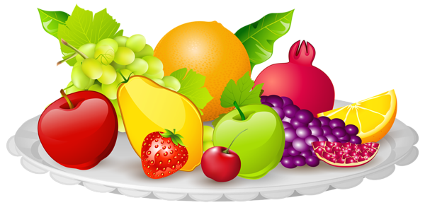 Fruit plate clipart graphic free stock Pin by ana ana on Διατροφή | Fruit plate, Clip art, Fruit graphic free stock