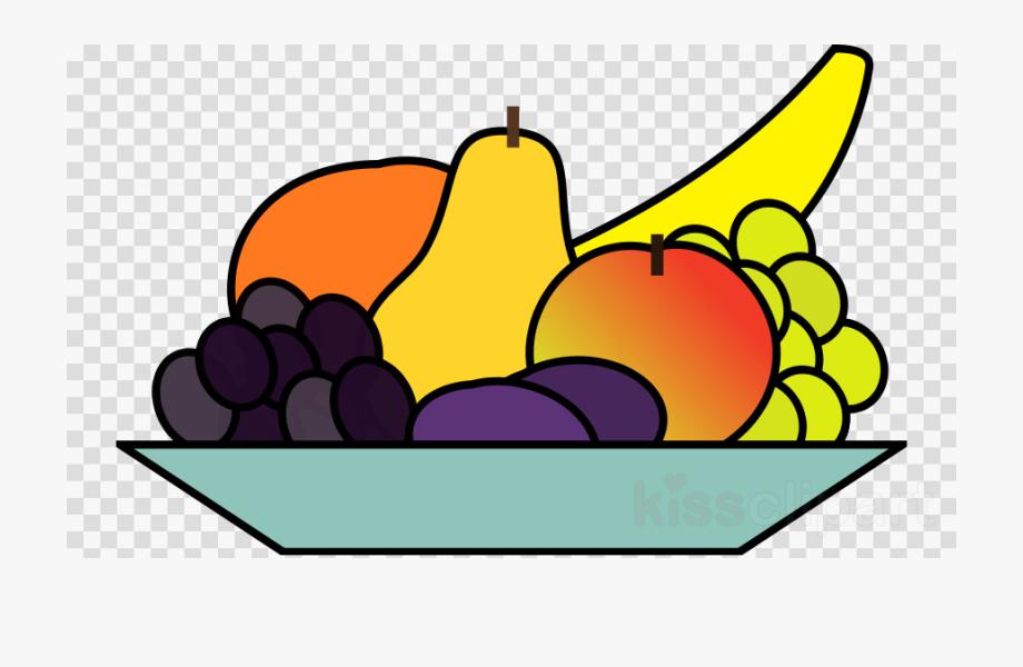 Fruit plate clipart transparent Fruit Bowl Clip Art - Plate Of Food Clipart #848594 - Free Cliparts ... transparent