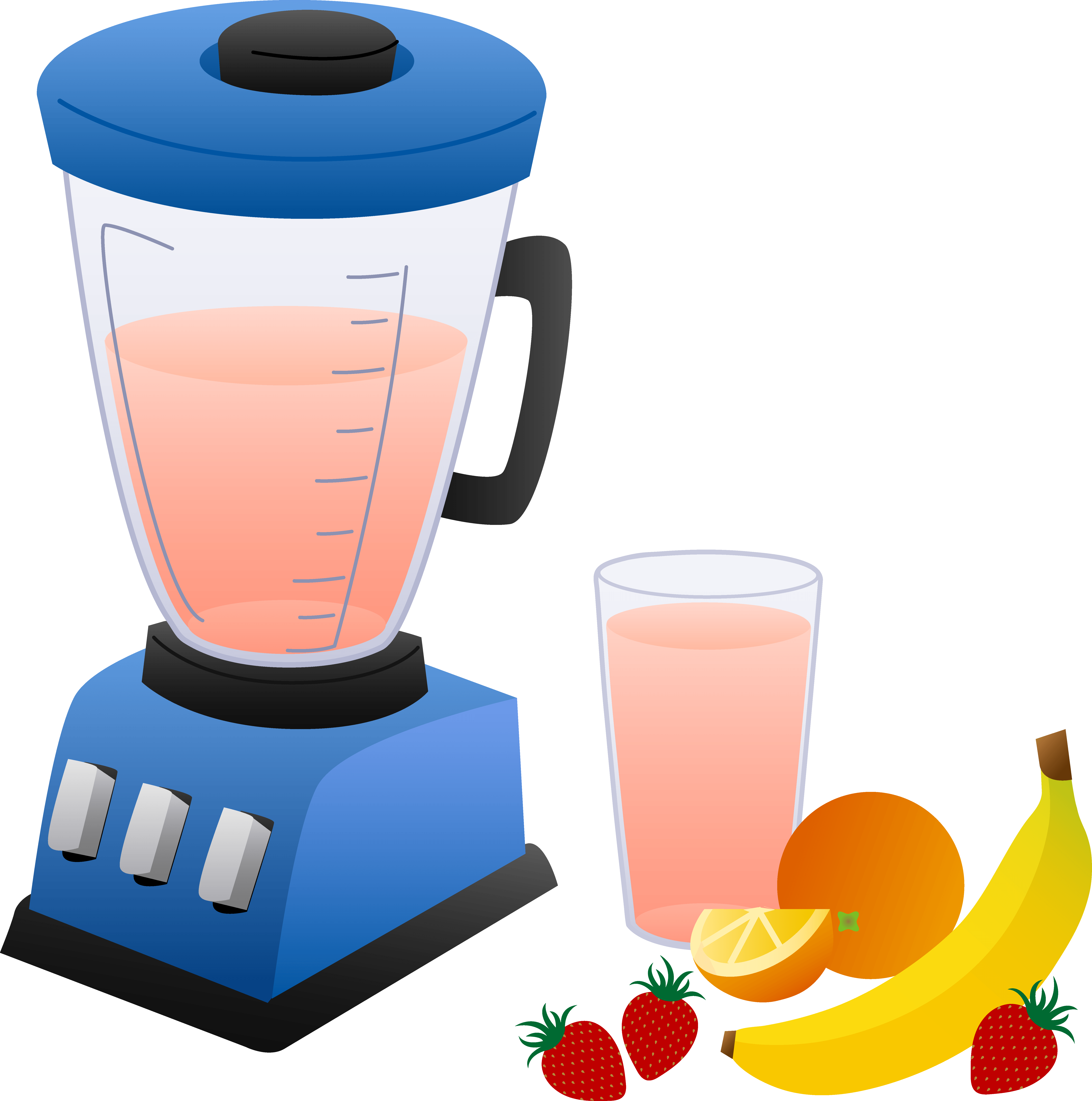 Fruit smoothie clipart free