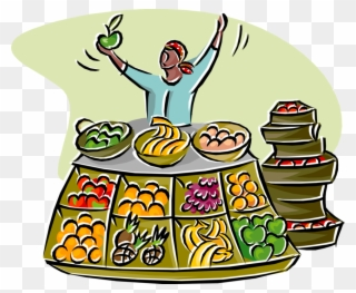 Fruit vendor clipart clip art stock Free PNG Fruit Market Clip Art Download - PinClipart clip art stock