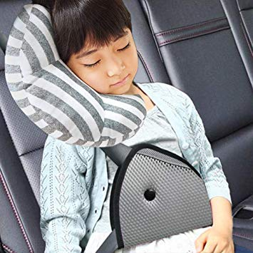 Frustrated in a car sit kid clipart jpg royalty free library DODYMPS Car Seat Travel Pillow Neck Support Cushion Pad and Seatbelt  Adjuster for Kids, Safety... jpg royalty free library