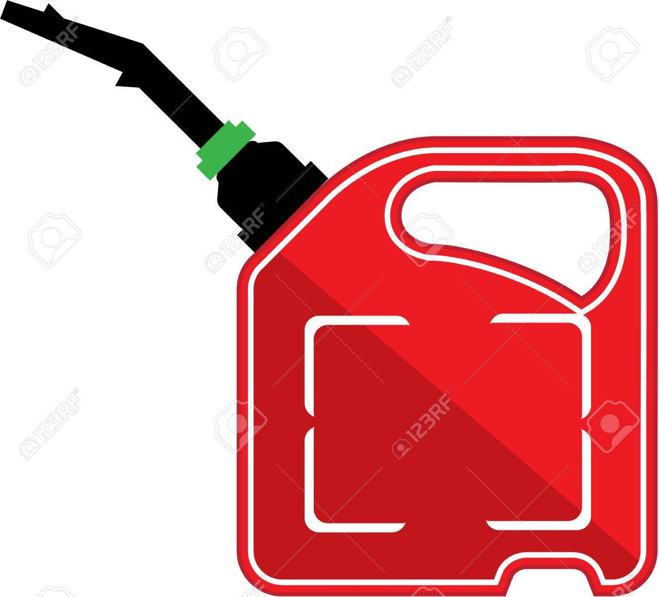 Fuel can clipart svg black and white download Fuel can vector illustration clip-art image » Clipart Portal svg black and white download
