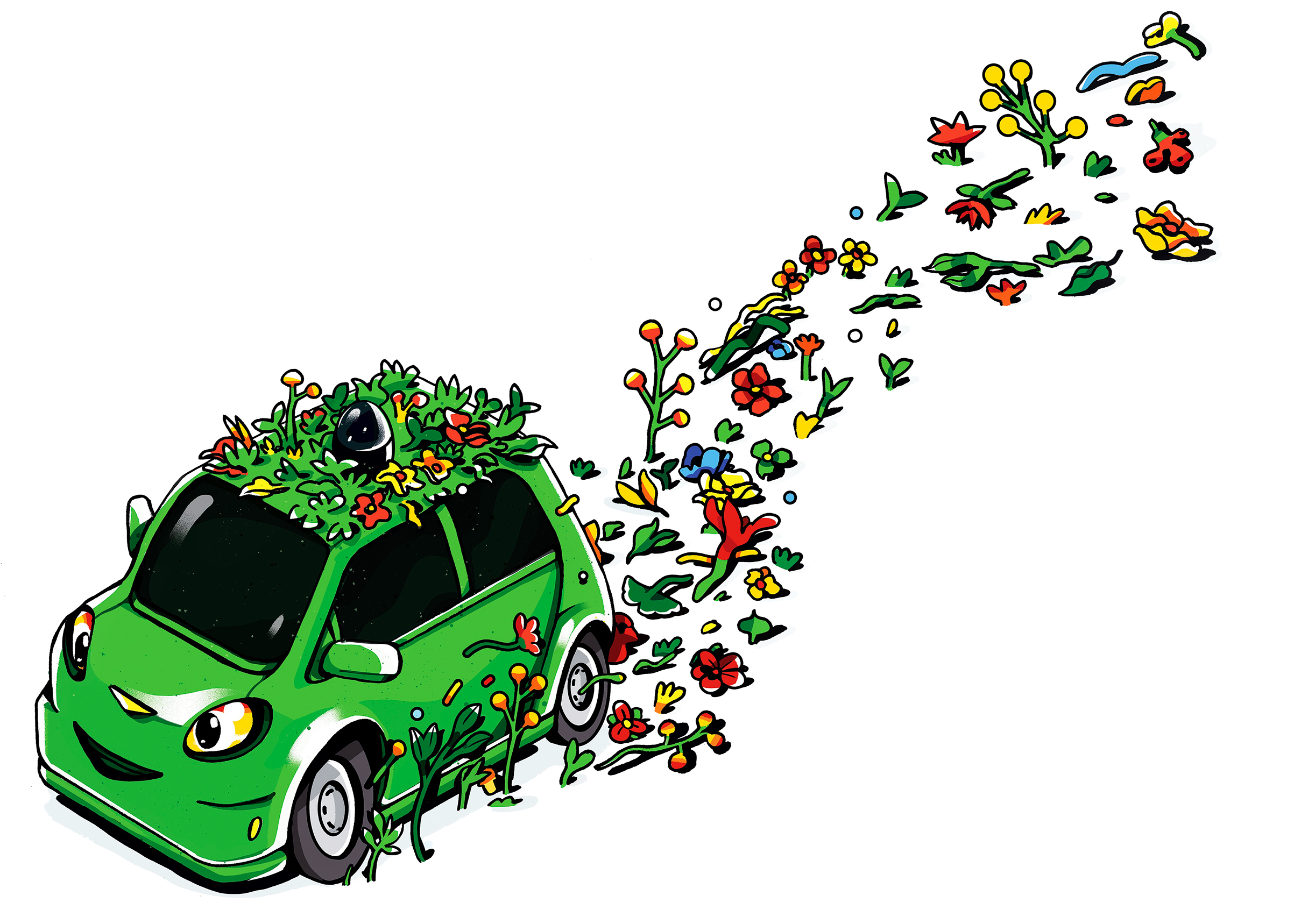 Fuel efficient cars clipart svg black and white Why Self-Driving Cars Might Not Decrease Fuel Consumption | Time svg black and white
