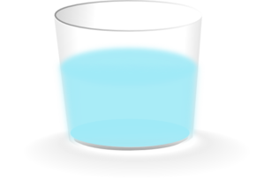 Full cup clipart image library Glass Half Full Clip Art at Clker.com - vector clip art online ... image library