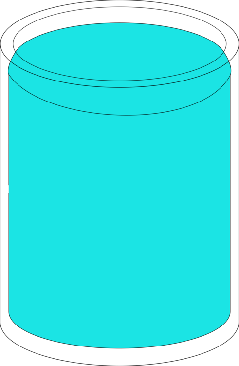 Full cup clipart graphic royalty free Cylinder,Area,Aqua Vector Clipart - Free to modify, share, and use ... graphic royalty free