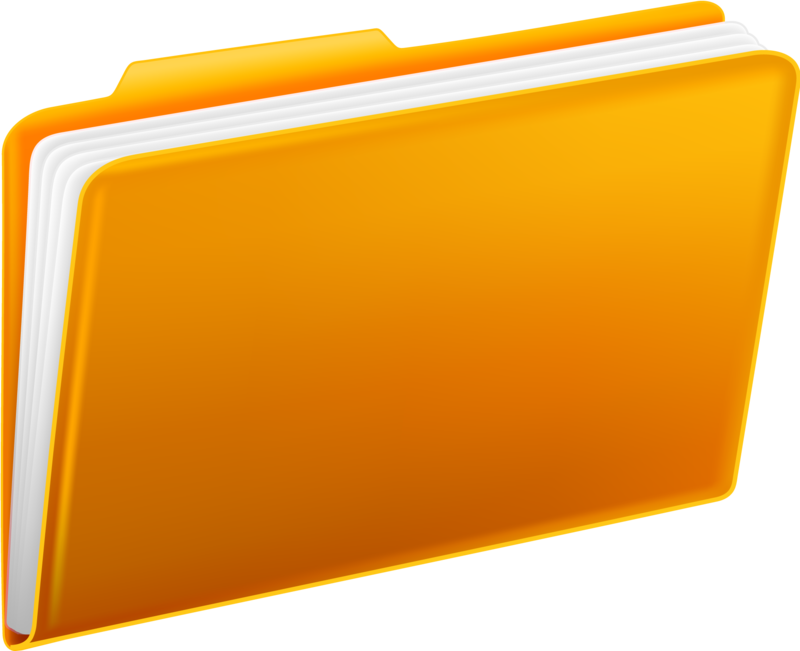 Full form of clipart file image transparent stock Download Free png Yellow Folders - DLPNG.com image transparent stock