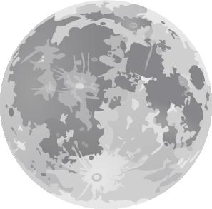 Full moon cartoon clipart image library library Full Moon Clip Art at Clker.com - vector clip art online, royalty ... image library library
