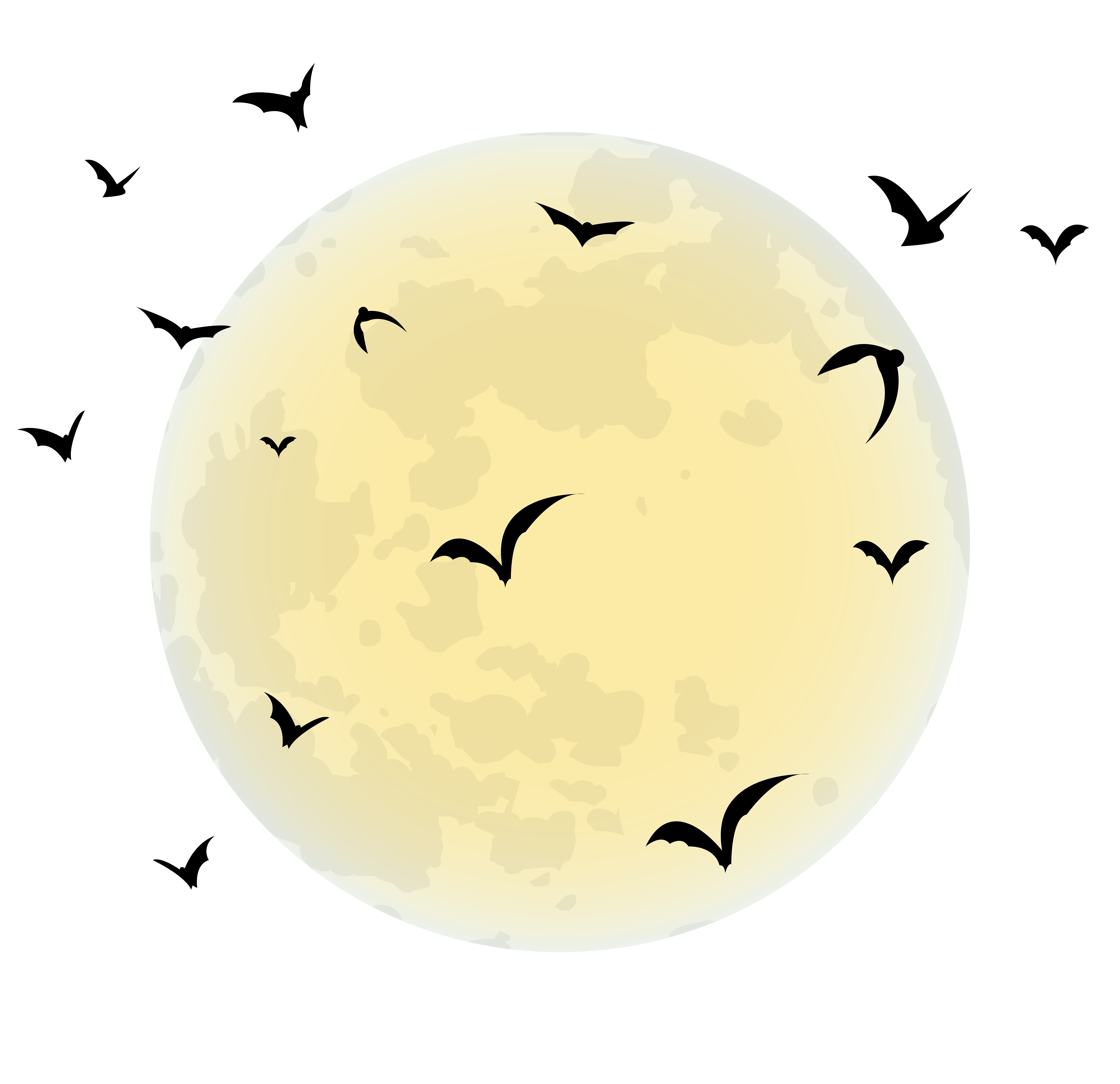 Full moon free clipart picture freeuse library Halloween Moon PNG Clip Art Image | Gallery Yopriceville - High ... picture freeuse library