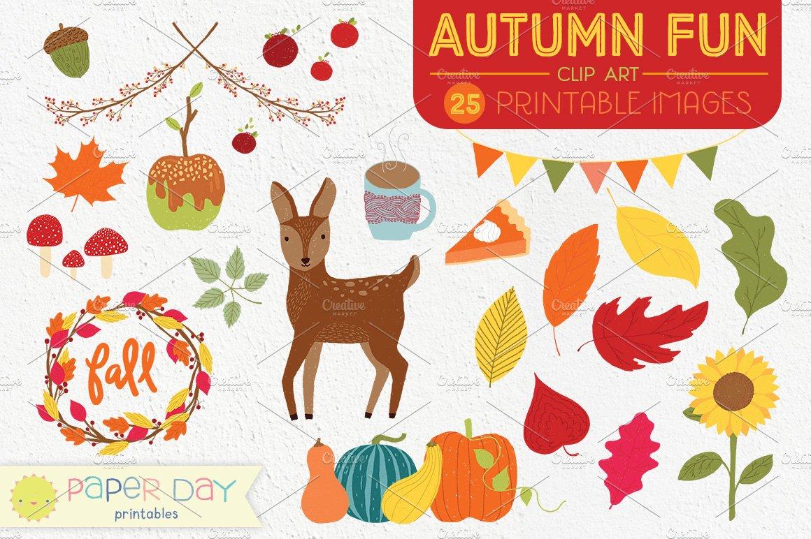 Fun fall clipart image library Autumn Fun Fall Clip Art | Vector image library