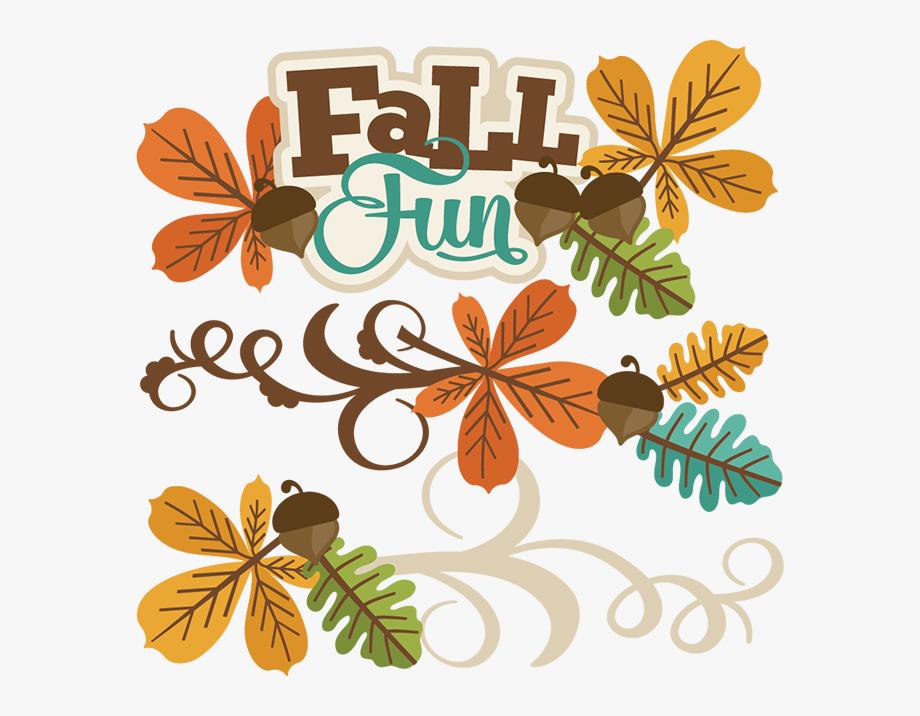 Fun fall clipart banner transparent stock Cute Fall Clipart - Free Digital Scrapbooking Fall #815 - Free ... banner transparent stock