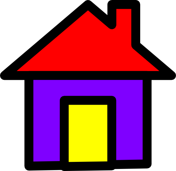 Fun House Clip Art at Clker.com - vector clip art online, royalty ... graphic black and white library