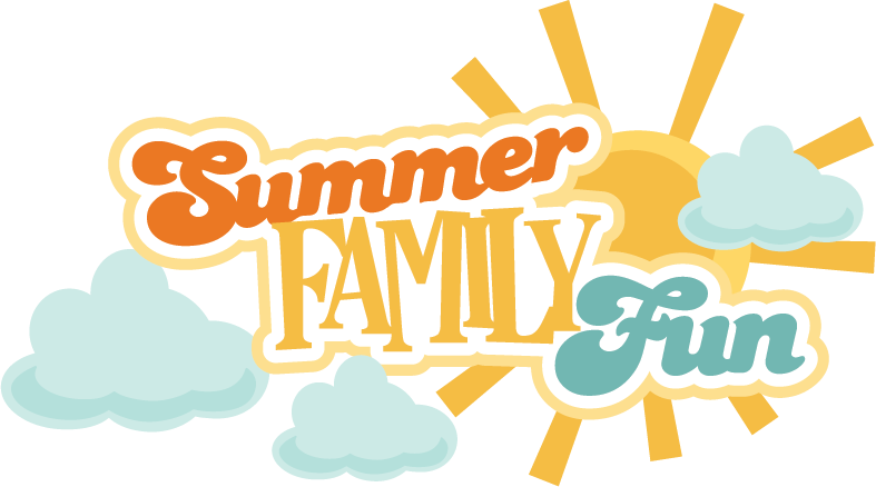 Fun in the sun clipart banner royalty free download Summer Family Fun SVG scrapbook title summer svg files cloud svg ... banner royalty free download