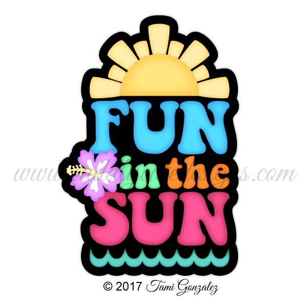 Fun in the sun clipart picture freeuse Summer picture freeuse