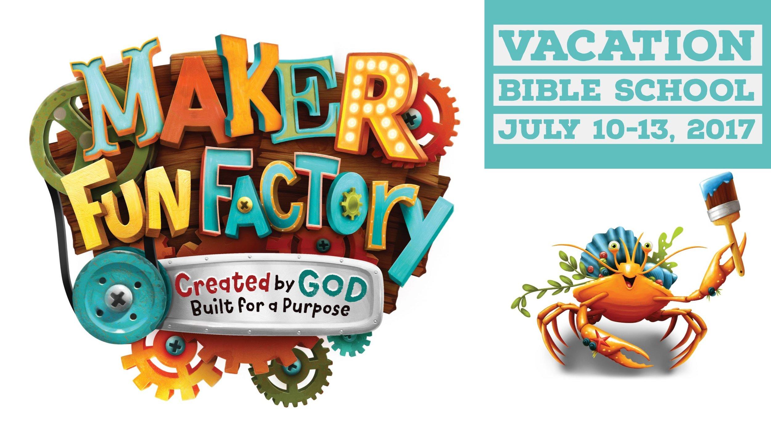 Fun maker vbs clipart clip transparent library Vacation Bible School - Maker Fun Factory — Immaculate Conception ... clip transparent library