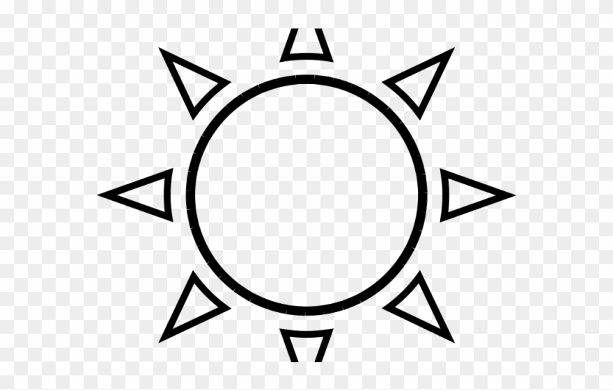 Fun sun clipart black and white transparent png library stock Black And White Sun Clipart - Sun Outline - Png Download (#52170 ... png library stock