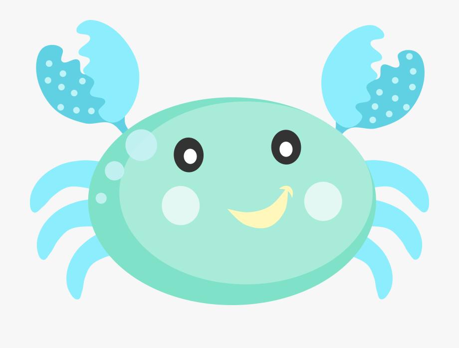 Fundo clipart image stock Cute Crab Clipart - Bichinhos Fundo Do Mar Png , Transparent Cartoon ... image stock